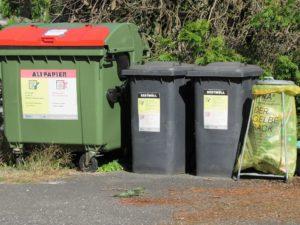 Gelber Sack Gelbe Tonne Mülltonne