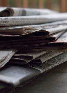 Zeitungen Altpapier Abfallguru Mülltrennung