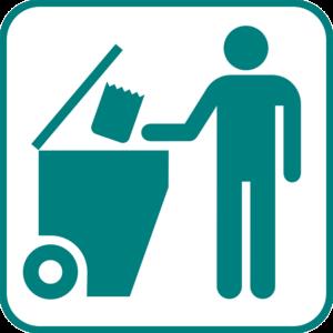 Wissen, wo der Müll hinkommt