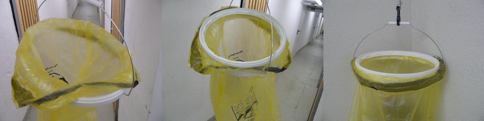 Müllbeutelhalter zum Selberbauen