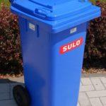 Mülltonne kaufen 120 l blau