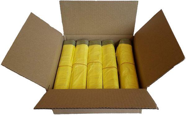 50 Rollen gelber Müllsack | Mülltrennung mit Abfallguru