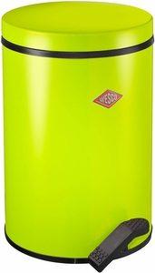 Wesco Abfallsammler mit flachem Deckel grün