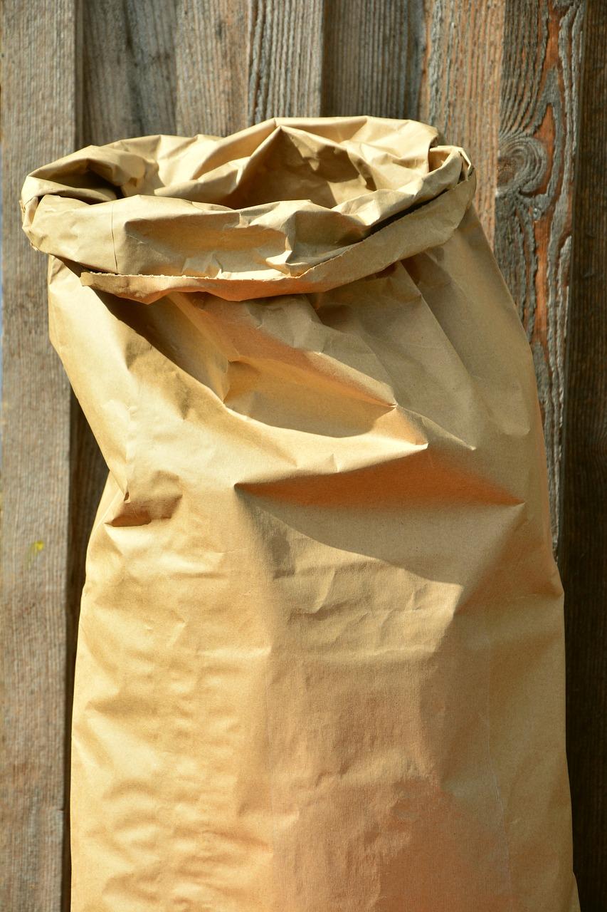 Papier Müllsack 120l