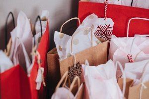Geschenkpapier Müll vermeiden klein