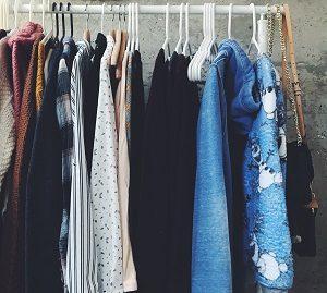 Kleider Second Hand Müll vermeiden