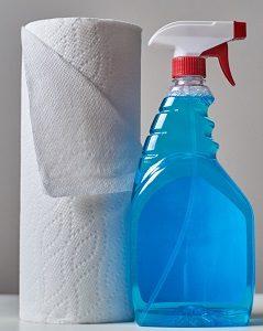Mülleimer mit Sensor Reinigung