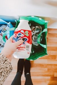 Recycling Müll vermeiden klein