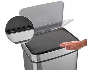 VonHaus Luxusabfalleimer Mülleimer mit Sensor
