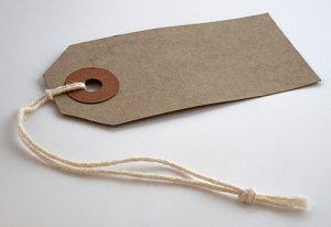 Etikett aus Papier entsorgen Abfallguru Mülltrennung