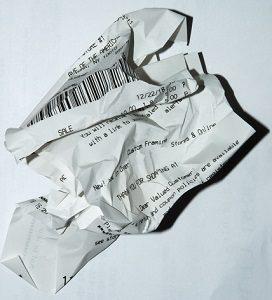 Thermobelege aus Papier entsorgen Abfallguru Mülltrennung